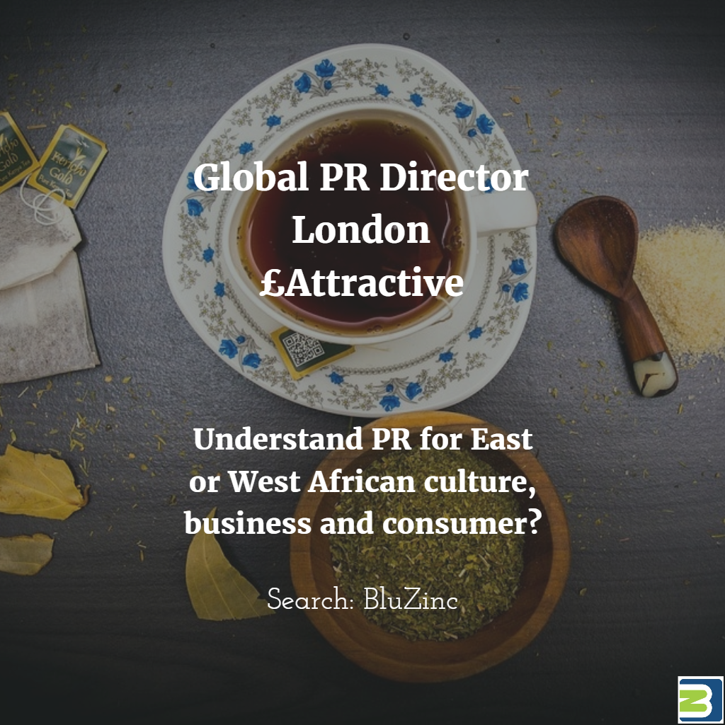 PR Director Global Strategy & Team Leadership Career Opportunity