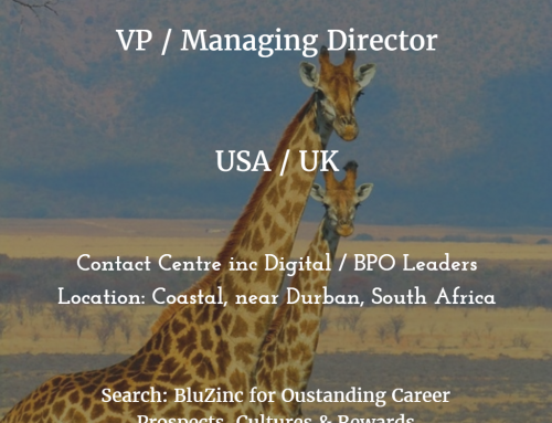 Managing Director VP Operations Contact Centres BPO (USA &/or UK Experienced) – Durban, South Africa