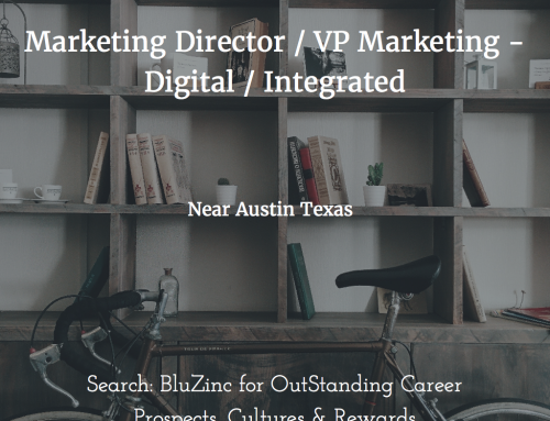 Marketing Director / VP Marketing – Digital Integrated Marketing & eCommerce Sales, Georgetown near Austin, Texas