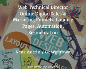 Technical Director Web Digital Marketing Georgetown Austin Texas BluZinc