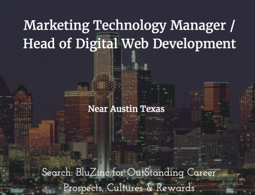 Web Production Technology Manager / Director – Expanding Start-Up in Georgetown, Austin, Texas