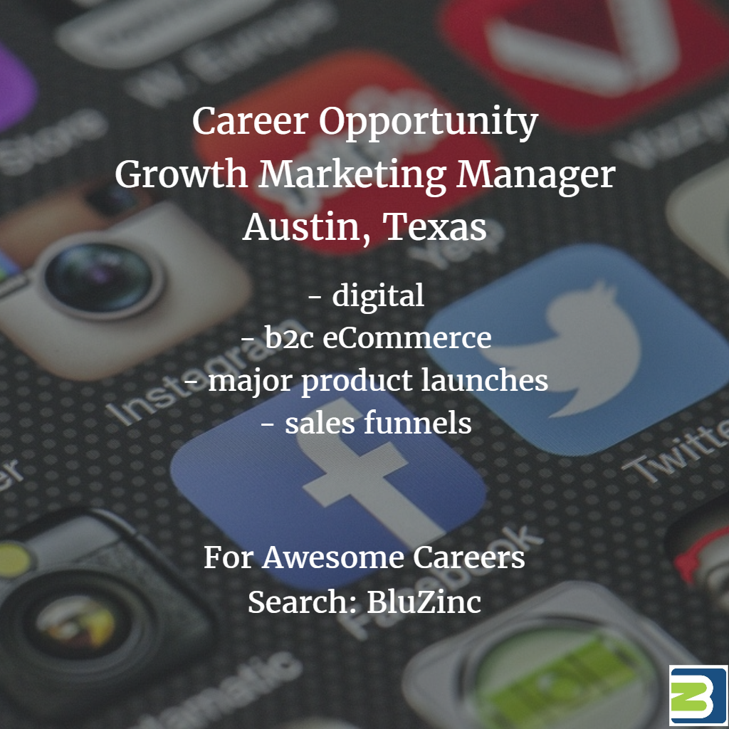 "Marketing ""Product Launch Formula"" Manager – Digital eCommerce –  Austin, Texas"