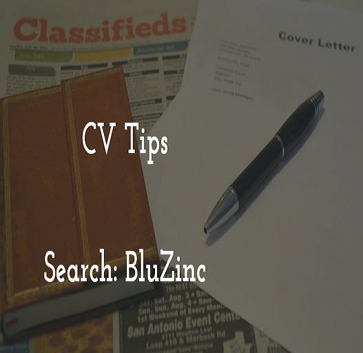 Image to show BluZinc CV Resume SEO Tips for Interviews