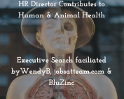 Executive Recruitment BluZinc HR Director Science
