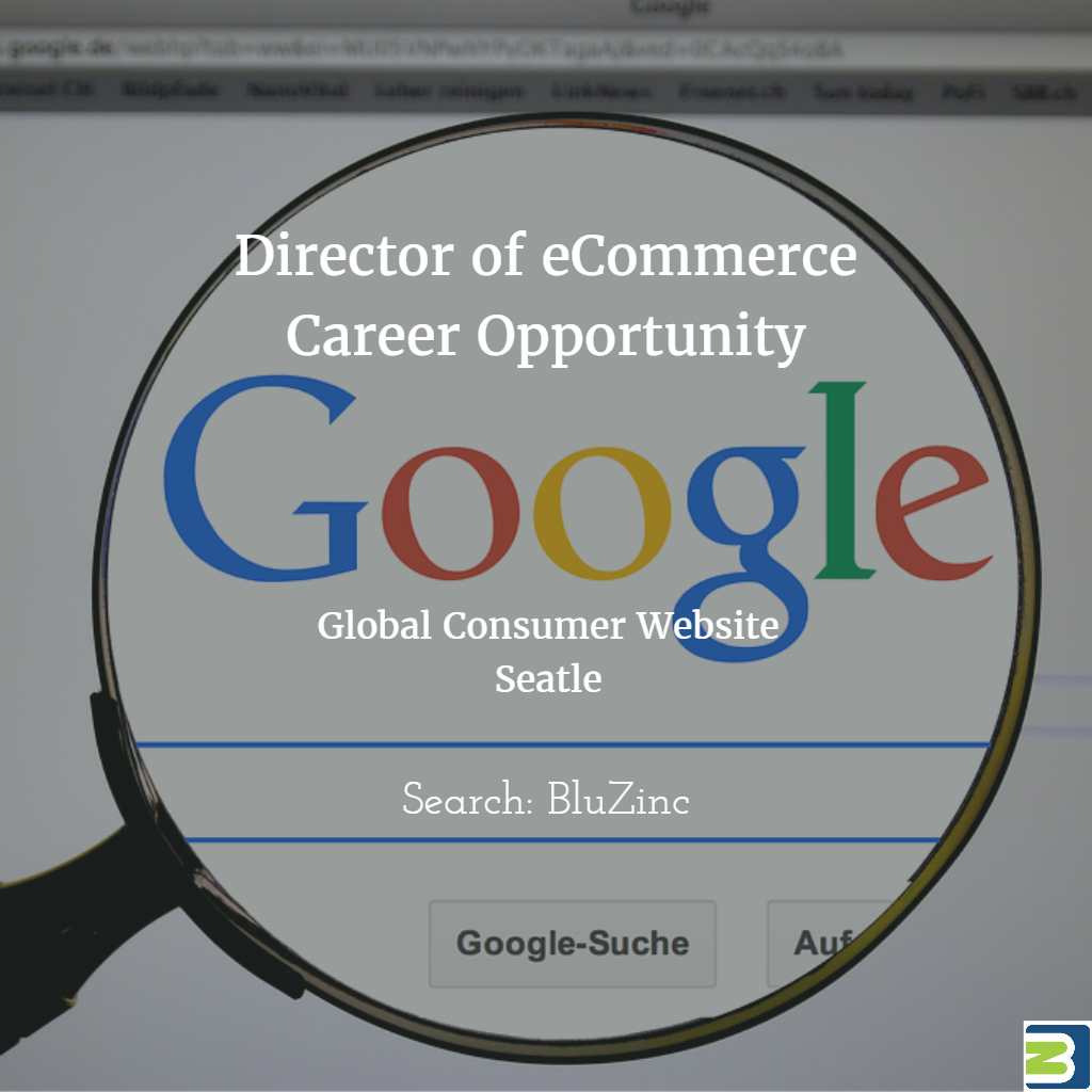 Senior Director of eCommerce – Web Technology : Global Consumer Brand