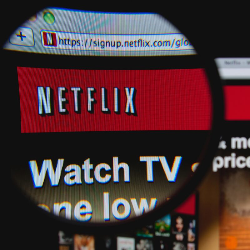 Image of Netflix and example of a digital consumer brand similar to BluZinc clients and expansion plans
